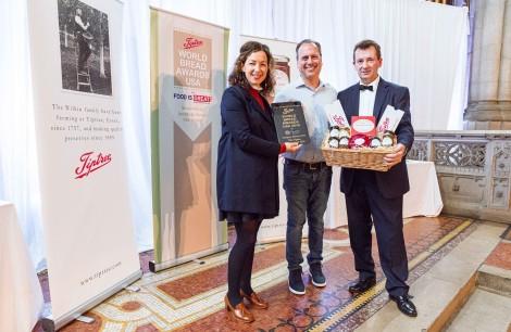 Winner 2019, The Tiptree Showstopper USA - David Shalam of Heritage Bakers, Glen Cove, New York