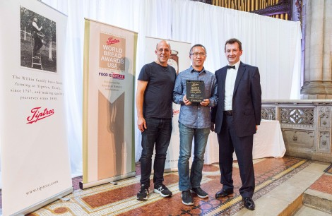 Winner 2019, Focaccia - Jason Shen of Choc o Pain French Bakery, Jersey City, NJ