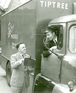 Old tiptree truck